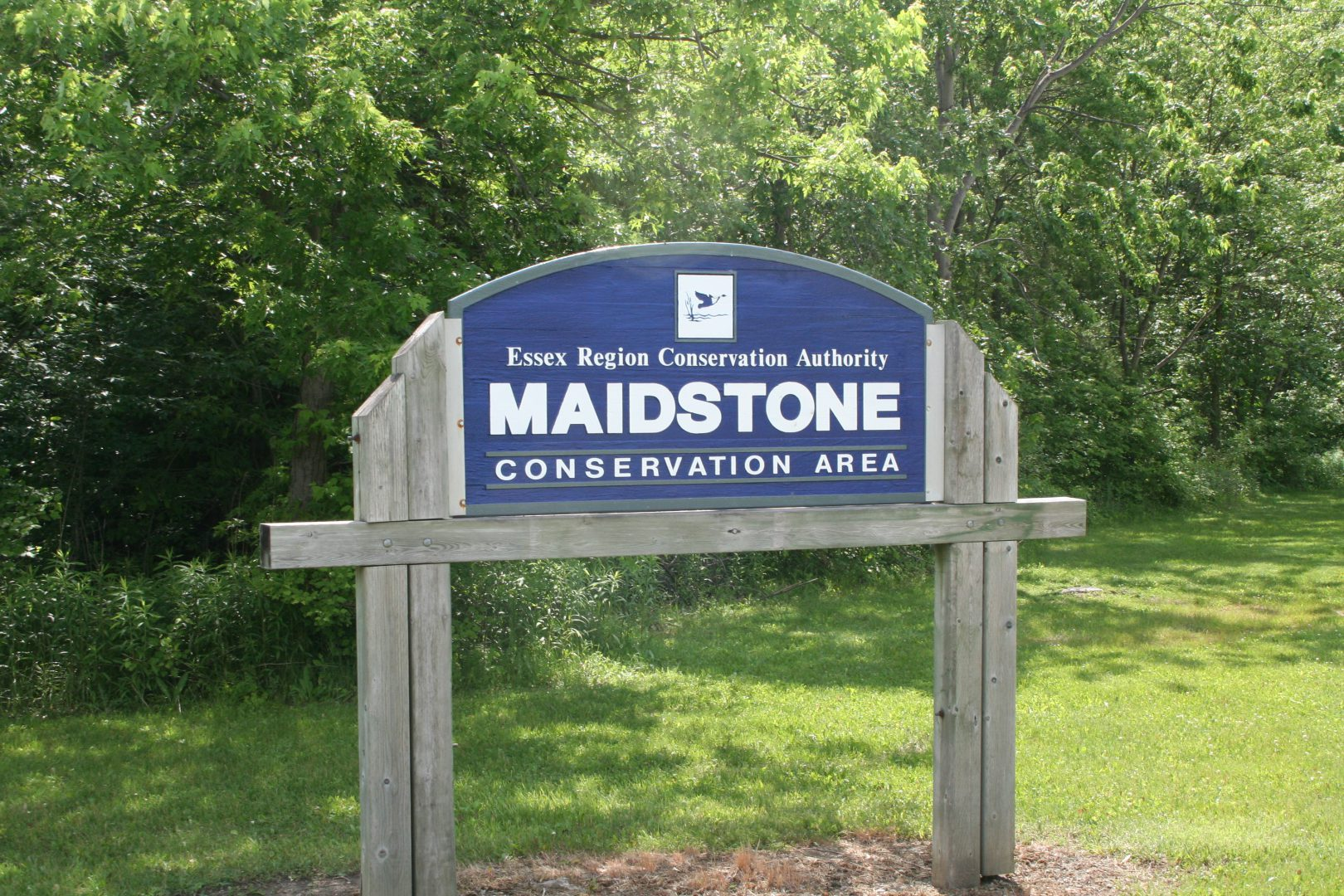 Maidstone Conservation Area entrance sign
