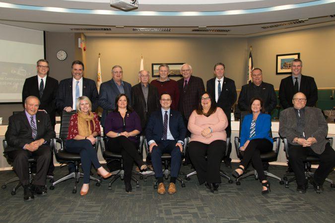 ERCA Board members