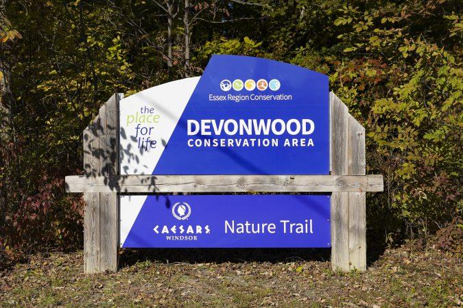 Devonwood Conservation Area sign