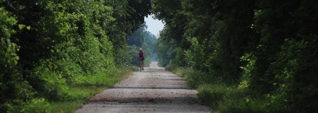 Greenway Cyclist