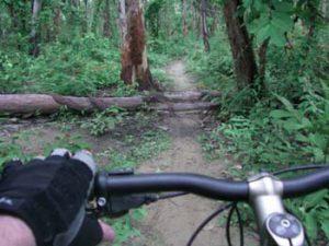 mounting biking image