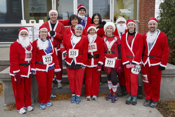 Santa Run Participants