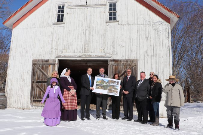 Homestead Heritage Centre unveiling