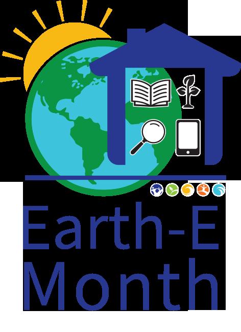 Earth Month logo